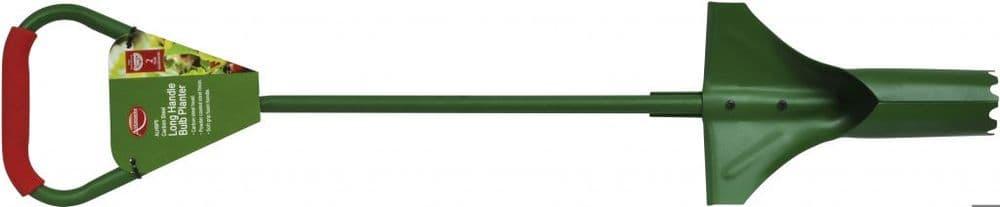 Ambassador Carbon Steel Long Handle Bulb Planter